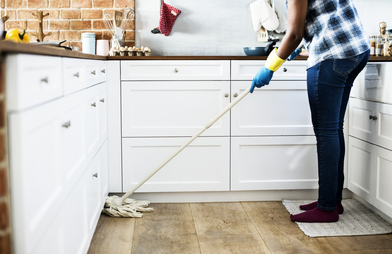 House Cleaning for the spring in Greensboro